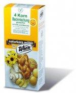 4-Korn Backmischung mit Hefe glutenfrei